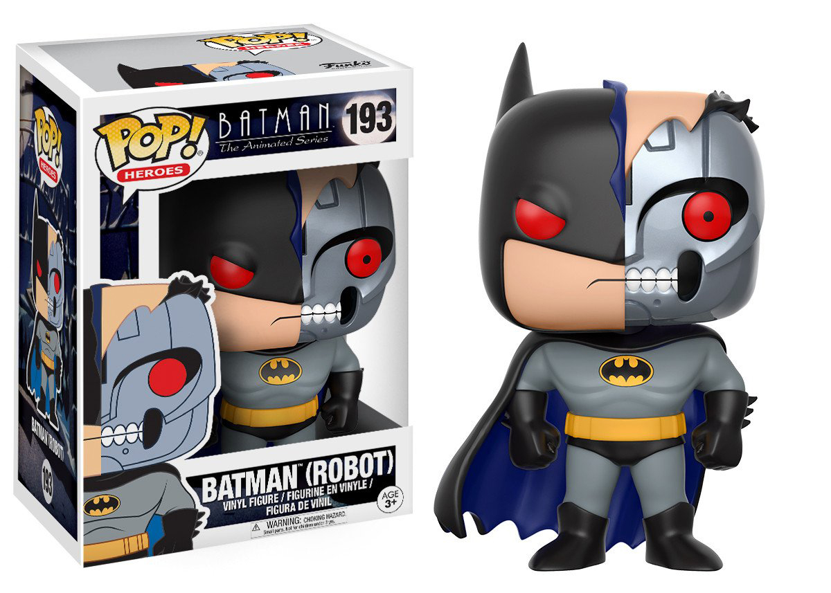 Фигурка Funko POP! Vinyl: DC: Batman Animated: BTAS Robot Batman 13645 фигурка funko pop vinyl dc batman animated btas robot batman 13645