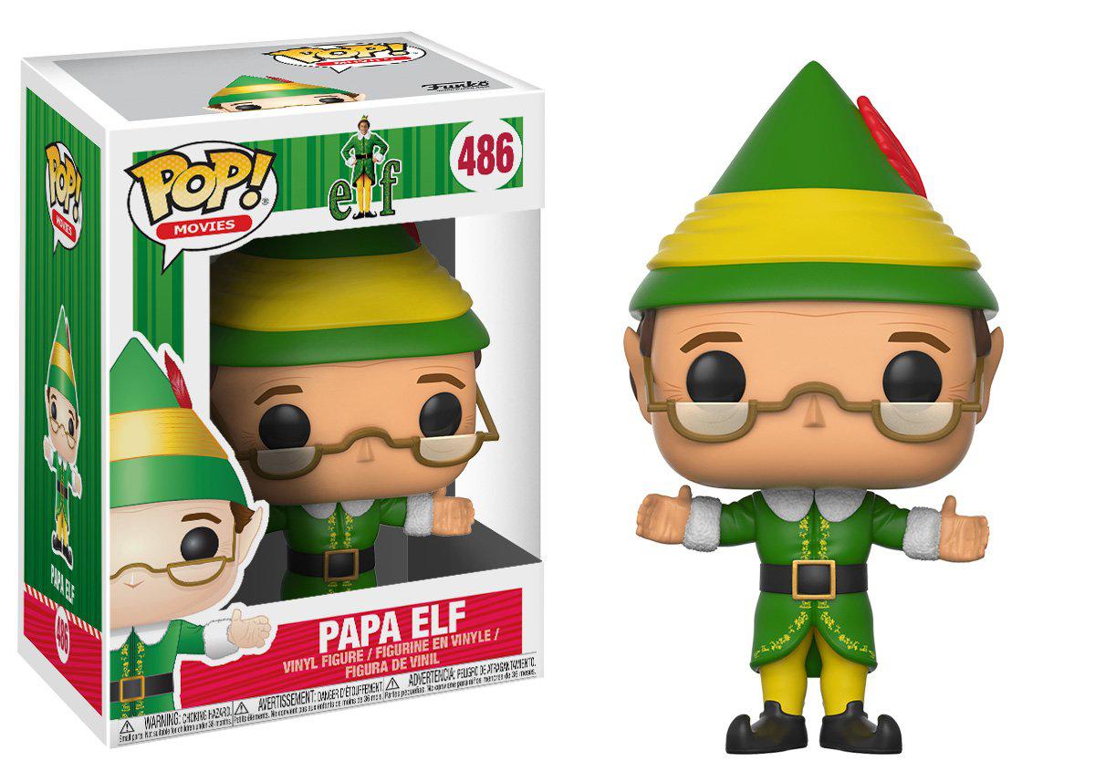 Фигурка Funko POP! Vinyl: Elf: Papa Elf 21381 фигурка funko pop bobble marvel black panther nakia