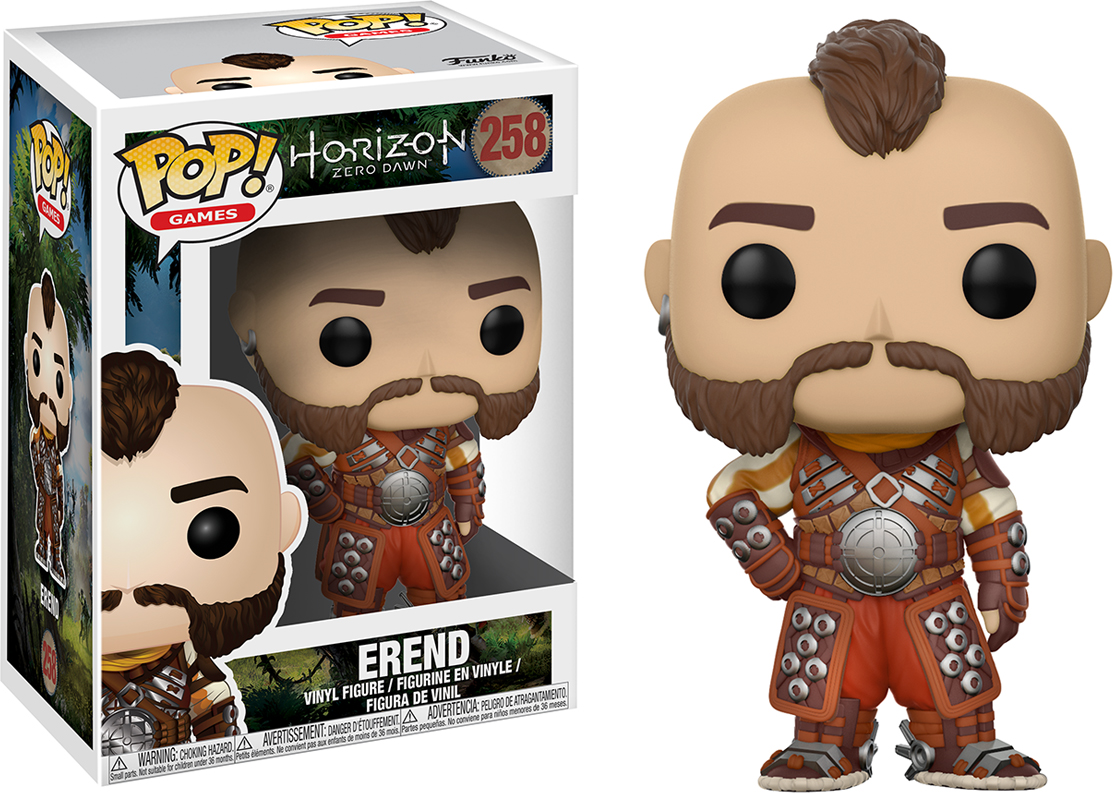 Фигурка Funko POP! Vinyl: Games: Horizon Zero Dawn: Erend 22606 фигурка funko pop vinyl games god of war draugr 21682