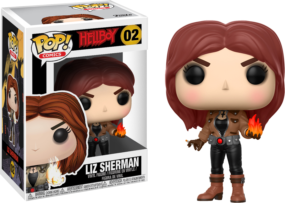 Фигурка Funko POP! Vinyl: Hellboy: Liz Sherman 22718 hellboy the art of hellboy