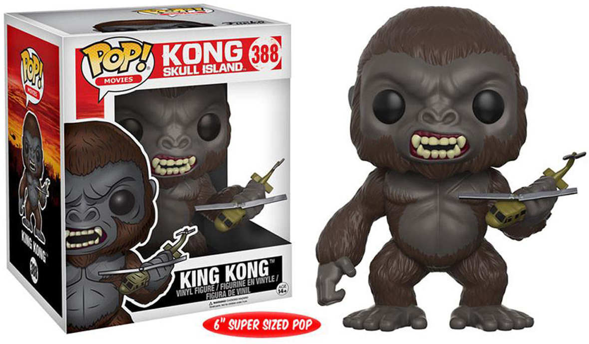 Фигурка Funko POP! Vinyl: King Kong 2017: 6