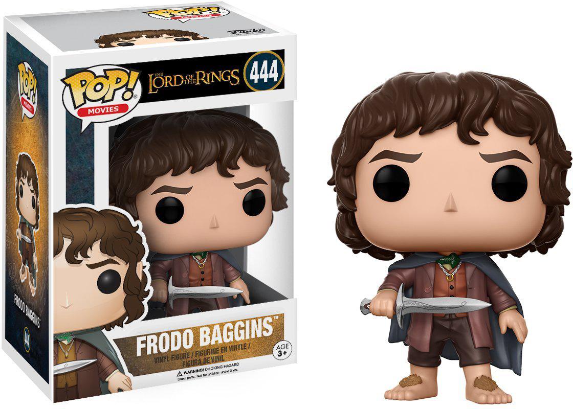 Фигурка Funko POP! Vinyl: LOTR/Hobbit: Frodo Baggins 13551 funko pop vinyl фигурка lotr hobbit s3 gollum 13559