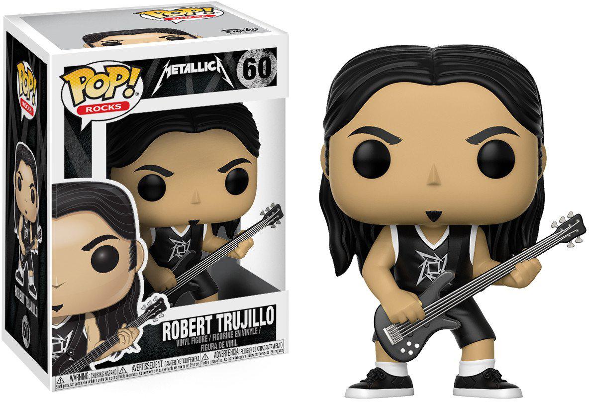 Фигурка Funko POP! Vinyl: Rocks: Metallica: Robert Trujillo 13809 фигурка funko pop rocks justin bieber