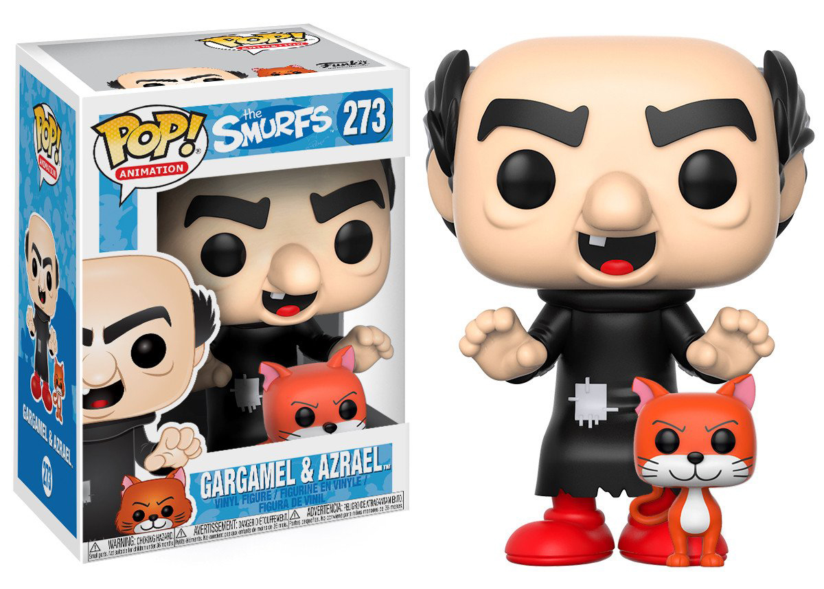Фигурка Funko POP! Vinyl: The Smurfs: Gargamel w/ Azrael 20141 фигурка funko pop movies the dark tower the man in black 9 5 см