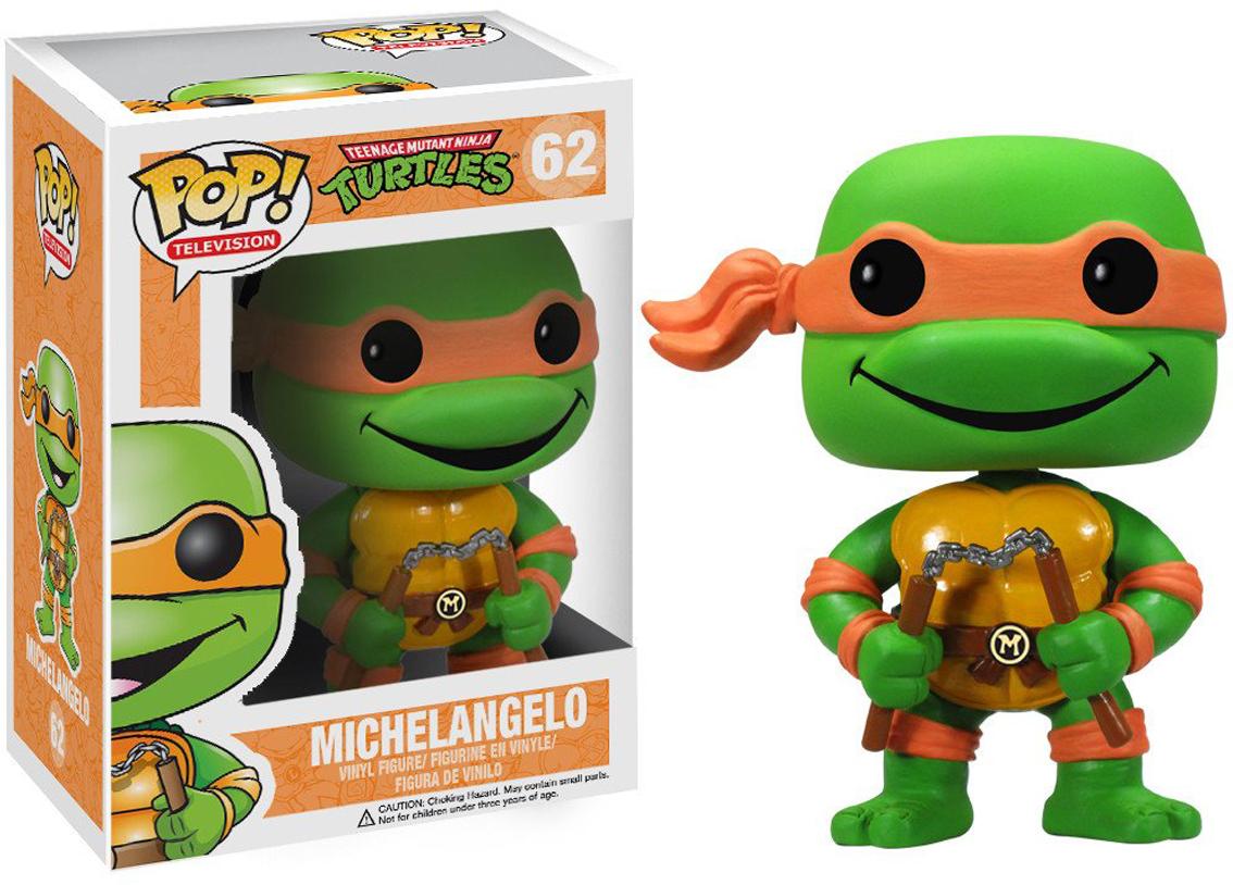 Фигурка Funko POP! Vinyl: TMNT: Michelangelo 3345 tmnt 12 90545