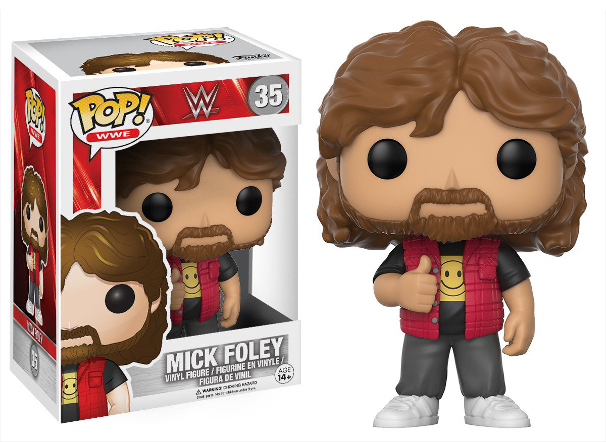 Фигурка Funko POP! Vinyl: WWE: Mick Foley Old School 14250