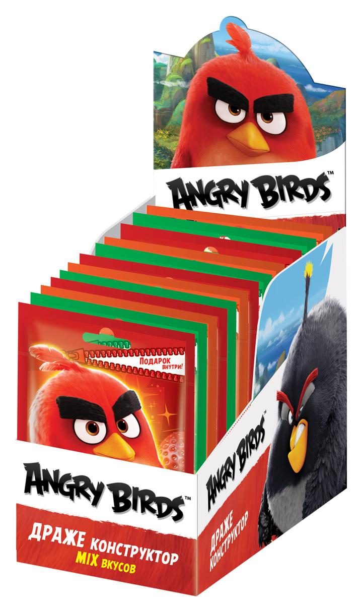 Конфитрейд Angry Birds Movie драже конструктор с паззлом, 24 шт по 12 г цены