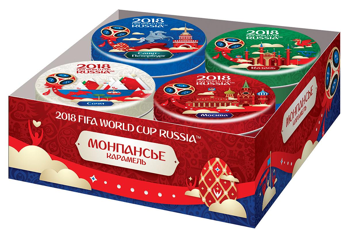 Конфитрейд Официальная продукция 2018 FIFA WORLD CUP карамель монпансье, 40 г