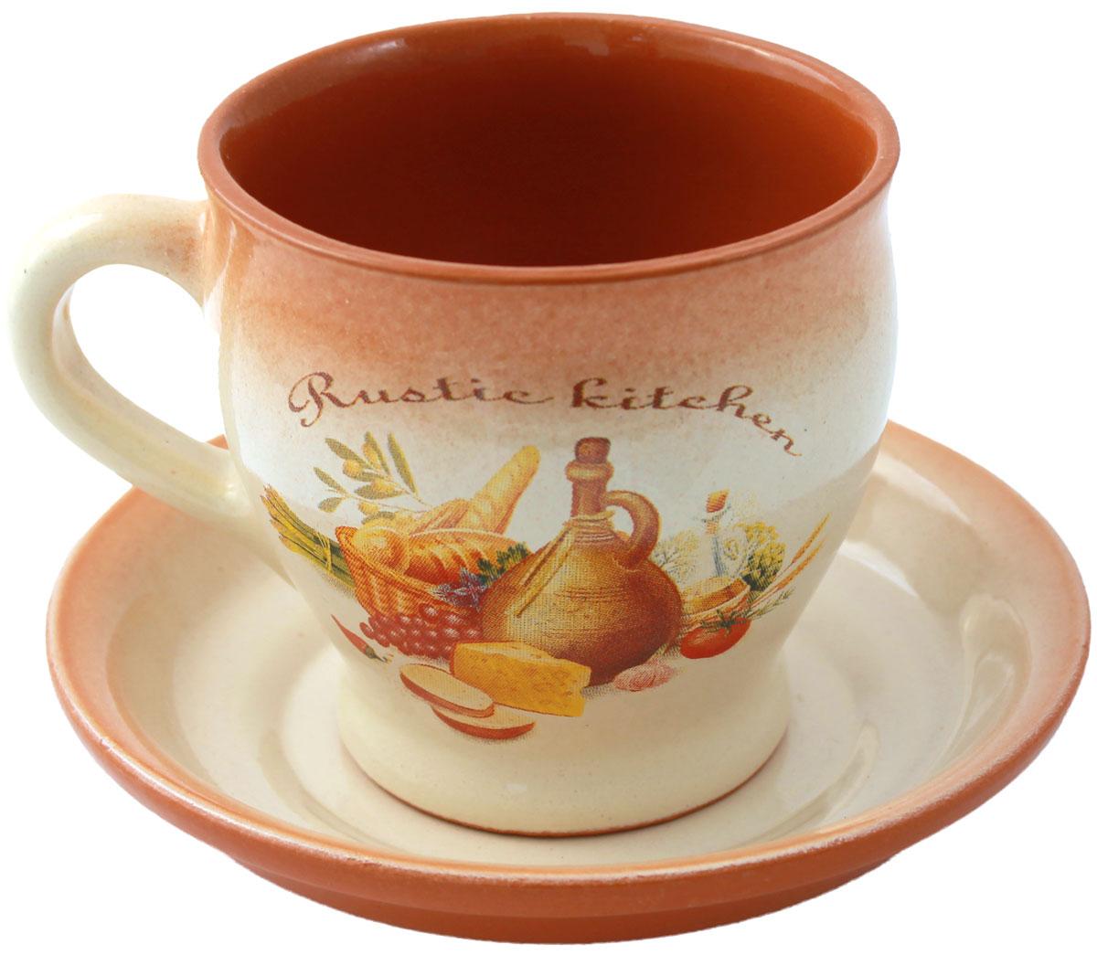 Чайная пара Ломоносовская керамика, 300 мл2РДЧ-1Чайная пара Ломоносовская керамика состоит из чашки и блюдца. Изделия,выполненные из высококачественной глины с глазурованнымпокрытием, имеют элегантный дизайн.Такая чайная пара прекрасно подойдет как для повседневного использования,таки для праздников. Объем чашки: 300 мл.