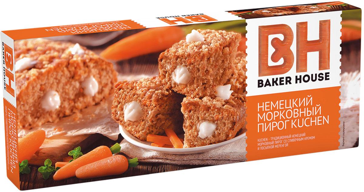 Baker House немецкий Kuchen пирог морковный, 350 г американский пирог свадьба