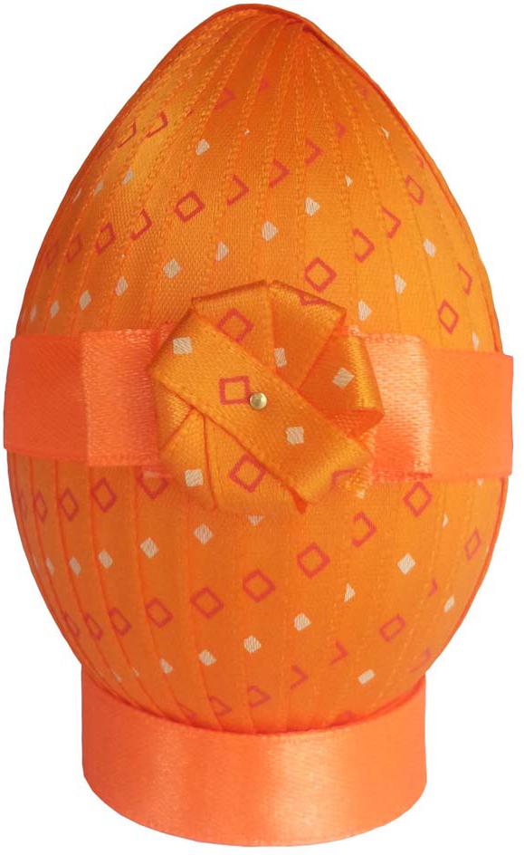 Набор для изготовления декоративного пасхального яйца Zengana Весенняя заря, 9 х 8 см. М-028 наборы для вышивания zengana набор для изготовления открытки с сыночком