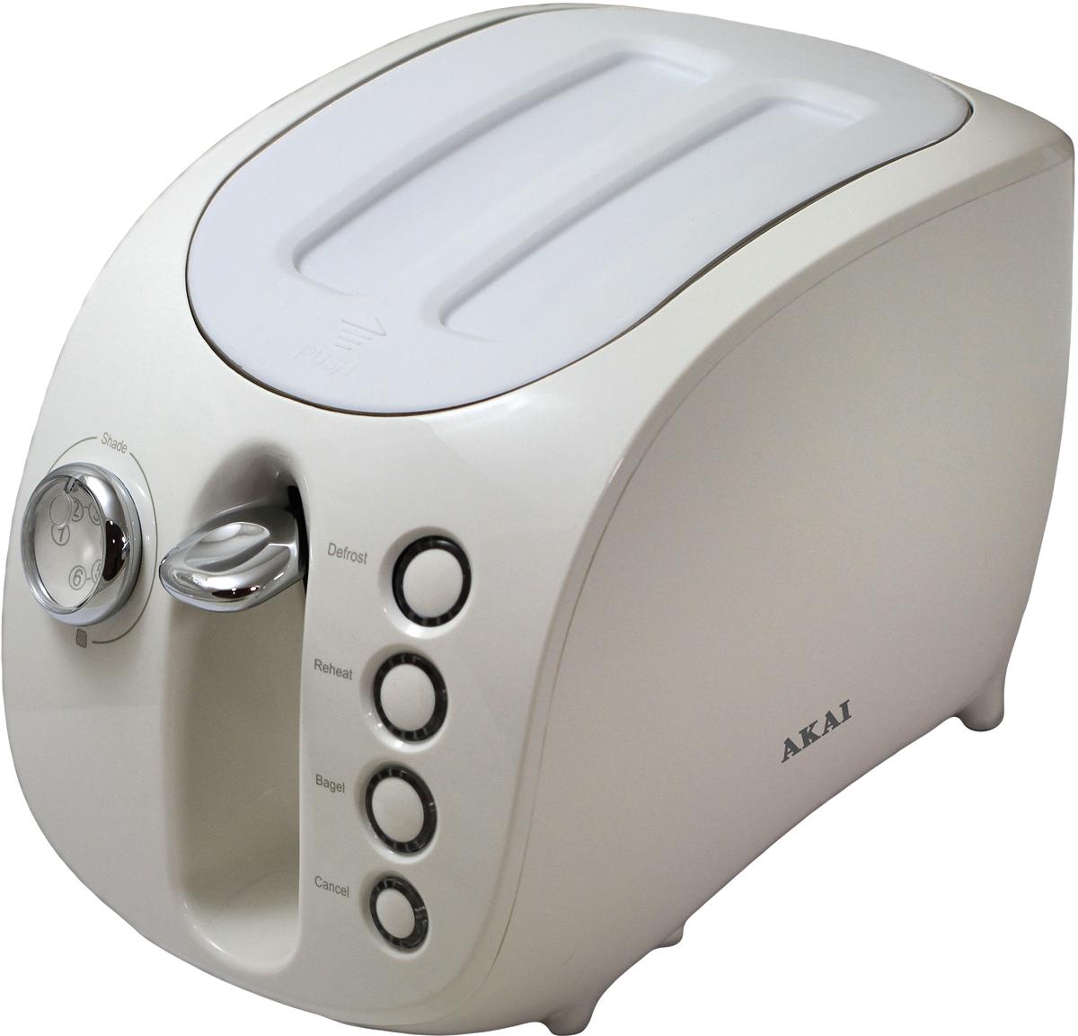 Akai ТР-1110 W, White тостер - Тостеры