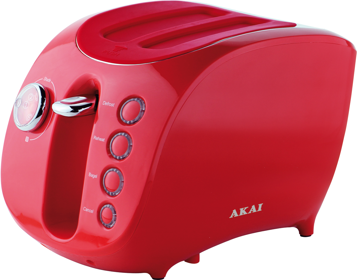 Akai ТР-1117 R, Red тостер