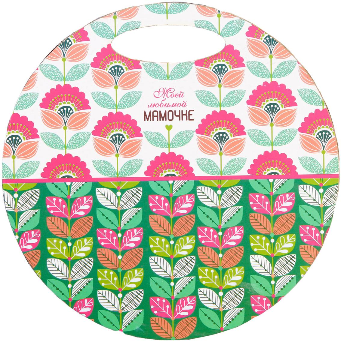 Доска разделочная Моей любимой мамочке, цвет: белый, розовый, зеленый, диаметр 30 см3120328От качества посуды зависит не только вкус еды, но и здоровье человека. Товар,соответствующий российским стандартам качества. Любой хозяйке будетприятно держать его в руках. С нашей посудой и кухонной утварьюприготовление еды и сервировка стола превратятся в настоящий праздник.Сувенир в полном смысле этого слова. И главная его задача - хранитьвоспоминание о месте, где вы побывали, или о том человеке, который подарилданный предмет. Преподнесите эту вещь своему другу, и она станетдостойным украшением его дома.