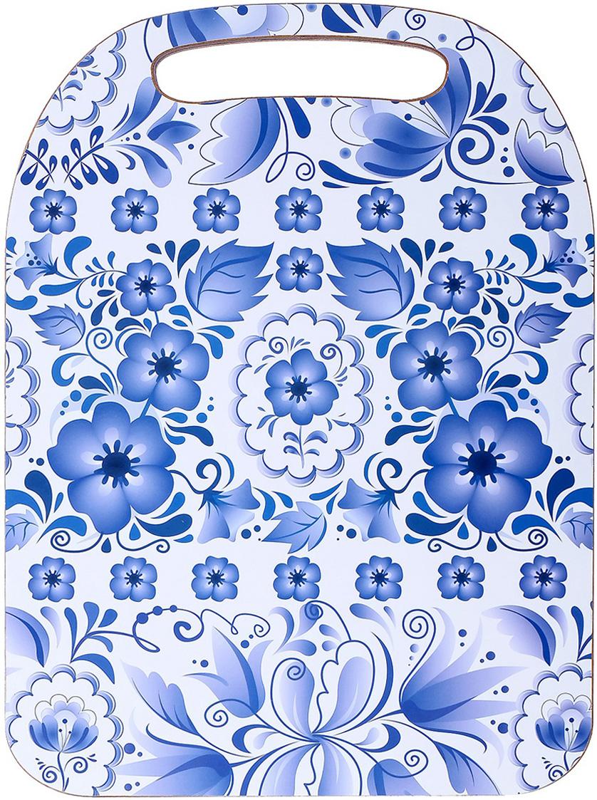 Доска разделочная Avanti-stile Гжель, цвет: белый, синий, 29 x 21 x 0,6 см3026267От качества посуды зависит не только вкус еды, но и здоровье человека. Товар, соответствующий российским стандартам качества. Любой хозяйке будет приятно держать его в руках. С нашей посудой и кухонной утварью приготовление еды и сервировка стола превратятся в настоящий праздник.