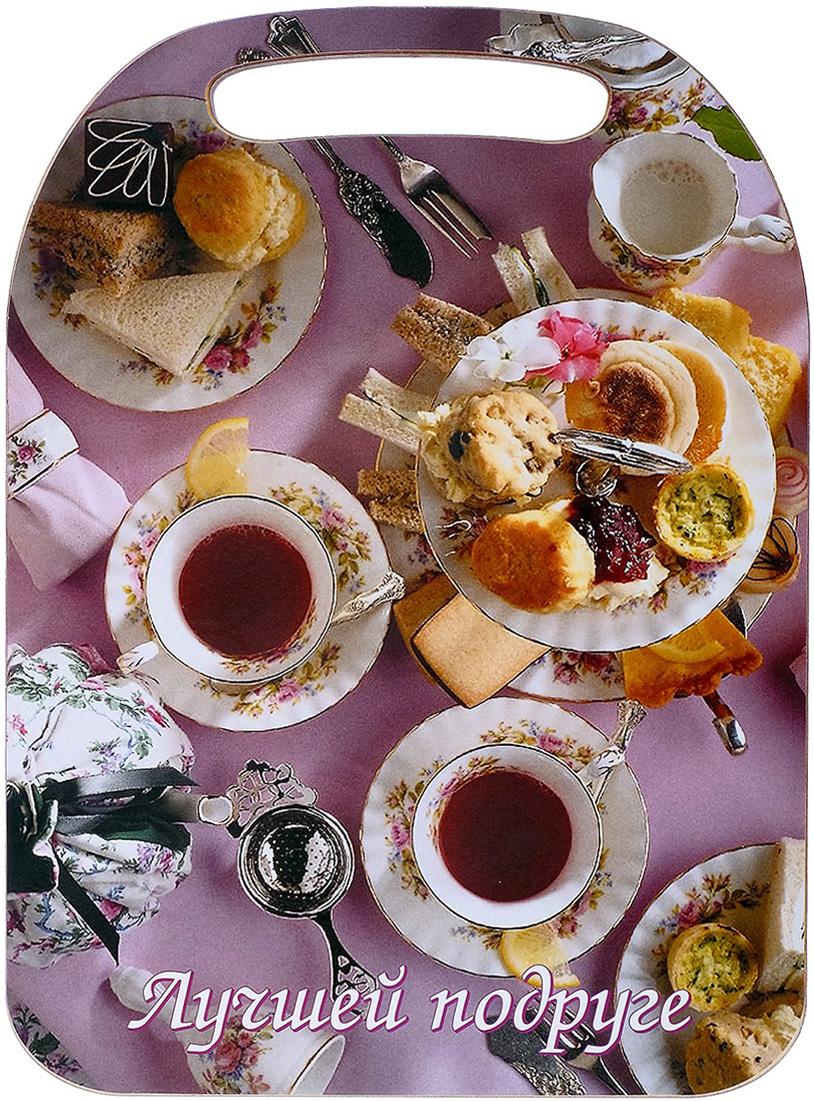 Доска разделочная Avanti-stile Лучшей подруге, цвет: мультиколор, 29 x 21 x 0,6 см3026260От качества посуды зависит не только вкус еды, но и здоровье человека. Товар, соответствующий российским стандартам качества. Любой хозяйке будет приятно держать его в руках. С нашей посудой и кухонной утварью приготовление еды и сервировка стола превратятся в настоящий праздник.