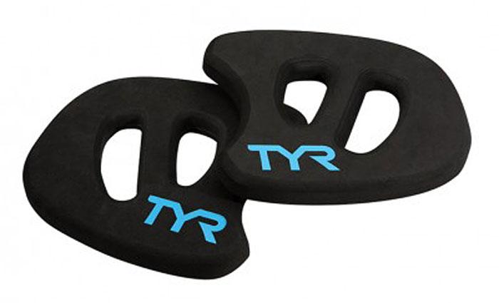 Аквадиски TYR  Aquatic Resistance Plane , цвет: черный, голубой, 2 шт - Плавание