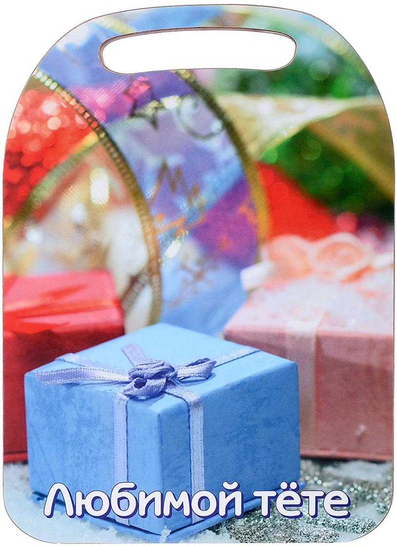 Доска разделочная Avanti-stile Любимой тете, цвет: голубой, розовый, 29 x 21 x 0,6 см3026259От качества посуды зависит не только вкус еды, но и здоровье человека. Товар, соответствующий российским стандартам качества. Любой хозяйке будет приятно держать его в руках. С нашей посудой и кухонной утварью приготовление еды и сервировка стола превратятся в настоящий праздник.