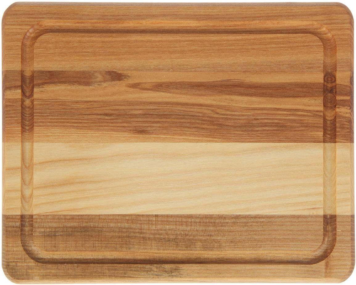 Доска разделочная Доброе дерево, цвет: бежевый, коричневый, 25 x 20 x 2 см1893050Такая разделочная доска подходит не только для нарезки продуктов, её можно использовать и в качестве подноса. Подав сырный набор или колбасную нарезку таким оригинальным образом, вы точно удивите своих гостей.Изделие выполнено из древесины твердых пород, которые менее чувствительны к влаге. Этот материал имеет больший срок службы. Также такая древесина приспособлена для ежедневной нарезки твердых продуктов.Уход за деревянной разделочной доской:Обработайте перед первым применением. Используйте пищевое минеральное или льняное масло. Протрите им доску и дайте впитаться в древесину. Уберите излишки масла сухой тканью. Повторяйте процедуру каждые 2-3 месяца, так вы предотвратите появление пятен, плесени и запахов еды.Для сохранения гладкости протирайте изделие наждачной бумагой.Используйте несколько разделочных досок для разного вида пищи. Это препятствует распространению бактерий сырых продуктов.Тщательно мойте и дезинфицируйте разделочную доску мылом и горячей водой после каждого использования. После этого высушите.Чтобы избавиться от запаха чеснока или лука, смажьте доску солью с лимоном. Через пару минут протрите поверхность и промойте её.Храните доску в сухом месте в вертикальном положении и вдали от посторонних запахов.Соблюдайте рекомендации, и разделочная доска прослужит вам долгие годы!