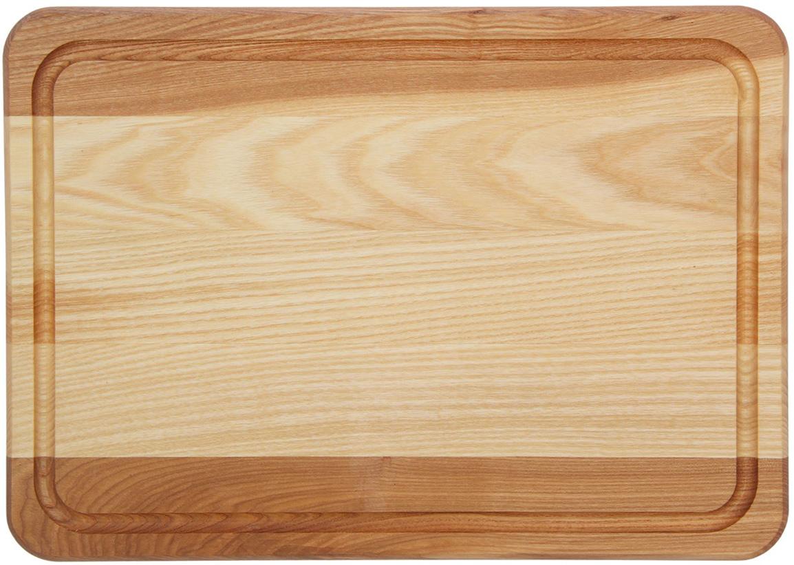 Доска разделочная Доброе дерево, цвет: бежевый, коричневый, 35 x 25 x 2 см1893052Такая разделочная доска подходит не только для нарезки продуктов, её можно использовать и в качестве подноса. Подав сырный набор или колбасную нарезку таким оригинальным образом, вы точно удивите своих гостей.Изделие выполнено из древесины твердых пород, которые менее чувствительны к влаге. Этот материал имеет больший срок службы. Также такая древесина приспособлена для ежедневной нарезки твердых продуктов.Уход за деревянной разделочной доской:Обработайте перед первым применением. Используйте пищевое минеральное или льняное масло. Протрите им доску и дайте впитаться в древесину. Уберите излишки масла сухой тканью. Повторяйте процедуру каждые 2-3 месяца, так вы предотвратите появление пятен, плесени и запахов еды.Для сохранения гладкости протирайте изделие наждачной бумагой.Используйте несколько разделочных досок для разного вида пищи. Это препятствует распространению бактерий сырых продуктов.Тщательно мойте и дезинфицируйте разделочную доску мылом и горячей водой после каждого использования. После этого высушите.Чтобы избавиться от запаха чеснока или лука, смажьте доску солью с лимоном. Через пару минут протрите поверхность и промойте её.Храните доску в сухом месте в вертикальном положении и вдали от посторонних запахов.Соблюдайте рекомендации, и разделочная доска прослужит вам долгие годы!