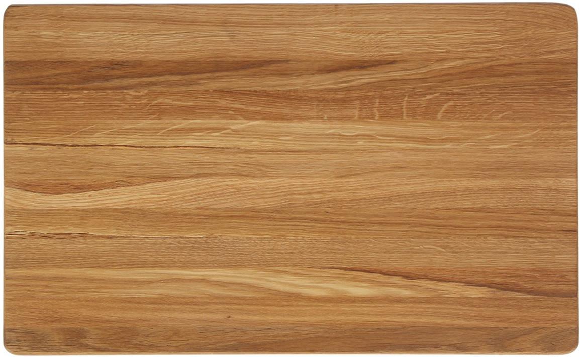 Доска разделочная Доброе дерево, цвет: коричневый, 50 x 35 x 4 см1893060Такая разделочная доска подходит не только для нарезки продуктов, её можно использовать и в качестве подноса. Подав сырный набор или колбасную нарезку таким оригинальным образом, вы точно удивите своих гостей.Изделие выполнено из древесины твердых пород, которые менее чувствительны к влаге. Этот материал имеет больший срок службы. Также такая древесина приспособлена для ежедневной нарезки твердых продуктов.Уход за деревянной разделочной доской:Обработайте перед первым применением. Используйте пищевое минеральное или льняное масло. Протрите им доску и дайте впитаться в древесину. Уберите излишки масла сухой тканью. Повторяйте процедуру каждые 2-3 месяца, так вы предотвратите появление пятен, плесени и запахов еды.Для сохранения гладкости протирайте изделие наждачной бумагой.Используйте несколько разделочных досок для разного вида пищи. Это препятствует распространению бактерий сырых продуктов.Тщательно мойте и дезинфицируйте разделочную доску мылом и горячей водой после каждого использования. После этого высушите.Чтобы избавиться от запаха чеснока или лука, смажьте доску солью с лимоном. Через пару минут протрите поверхность и промойте её.Храните доску в сухом месте в вертикальном положении и вдали от посторонних запахов.Соблюдайте рекомендации, и разделочная доска прослужит вам долгие годы!