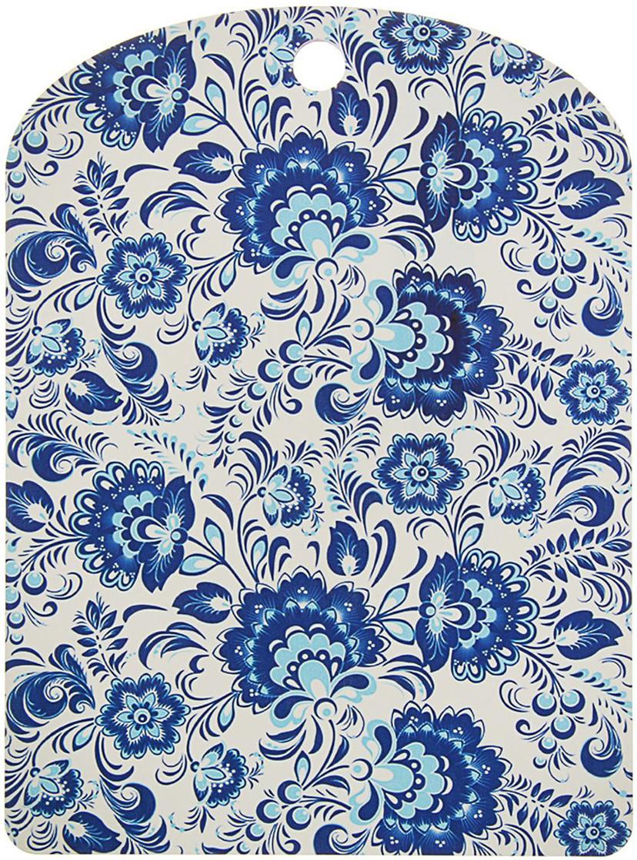 Доска разделочная ТД ДМ Гжель, цвет: белый, голубой, синий, 25 x 18 x 0,5 см1770781От качества посуды зависит не только вкус еды, но и здоровье человека. Товар, соответствующий российским стандартам качества. Любой хозяйке будет приятно держать его в руках. С нашей посудой и кухонной утварью приготовление еды и сервировка стола превратятся в настоящий праздник. Сувенир в полном смысле этого слова. И главная его задача — хранить воспоминание о месте, где вы побывали, или о том человеке, который подарил данный предмет. Преподнесите эту вещь своему другу, и она станет достойным украшением его дома.