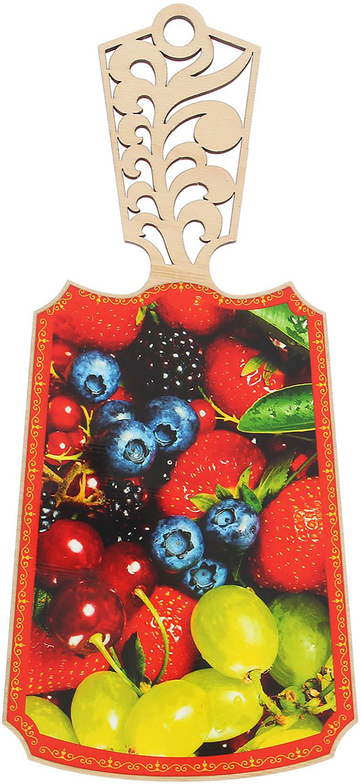 Доска разделочная резная, цвет: желтый, красный, синий, 38 x 17 x 0,5 см2066352От качества посуды зависит не только вкус еды, но и здоровье человека. Товар, соответствующий российским стандартам качества. Любой хозяйке будет приятно держать его в руках. С нашей посудой и кухонной утварью приготовление еды и сервировка стола превратятся в настоящий праздник.