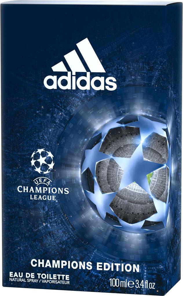 Adidas Туалетная вода UEFA IV мужская, 100 мл adidas pure game туалетная вода 100 мл