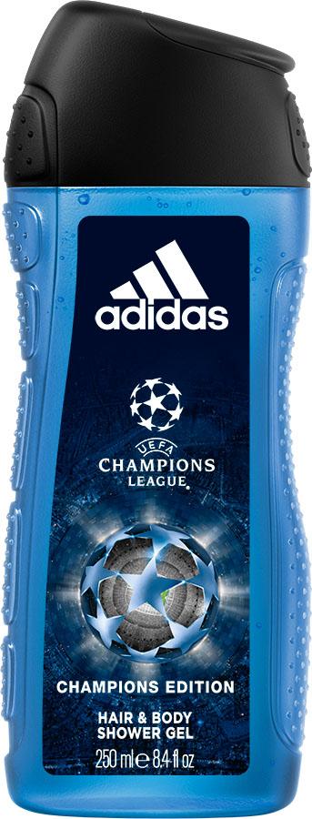 Adidas Гель для душа UEFA IV мужской, 250 мл31985640000UEFA Champions League отражает основные качества настоящих игроков: стремление к победе, силу воли, горячее желание сделать свою жизнь лучше и играть в ней ключевую роль по своим правилам.
