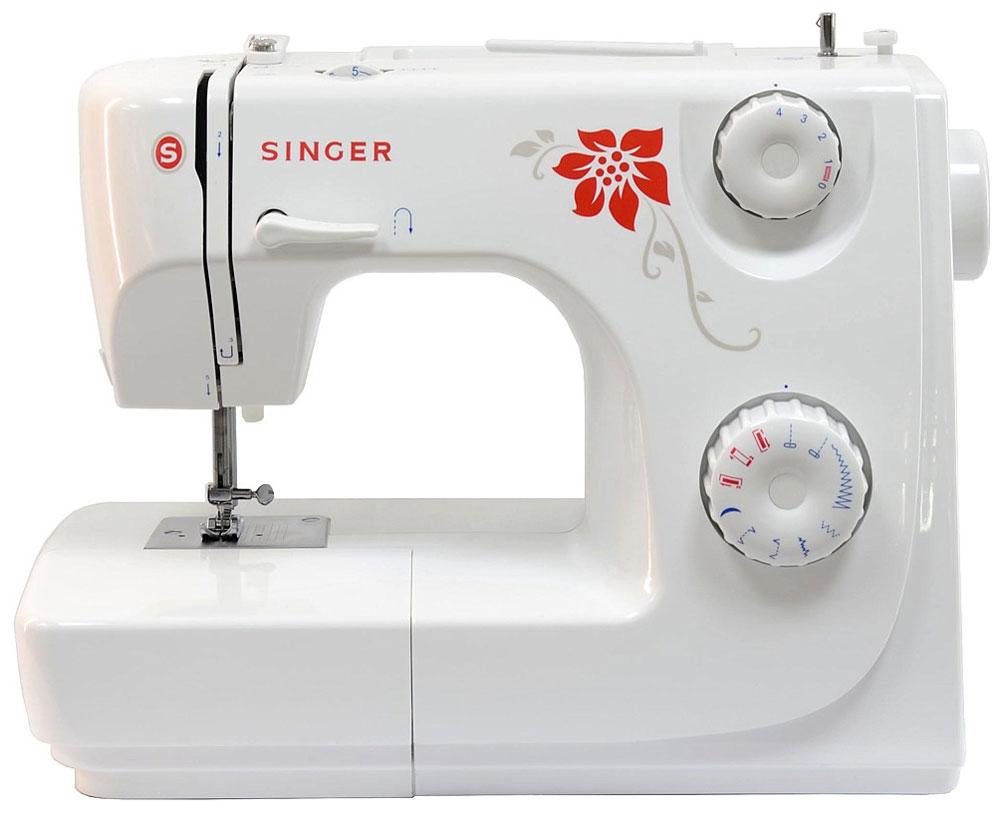 Singer 8280 P, Turquoise швейная машинаг09048_бирюзовыйНедорогая компактная швейная машина Singer 8280 умеет делать все основные швейные операции и отлично подойдет для обучения шитью, ремонта одежды, шитья несложных вещей и других подобных работ.Хранить запасные шпульки и иголки, нитки и ножницы удобнее во встроенном в Singer 8280 отсеке для аксессуаров. Работу с узкими деталями одежды значительно облегчит свободный рукав. Данная модель станет отличным приобретением для экономных людей, которые предпочитают дорогому ремонту одежды в швейных ателье ремонт в домашних условиях.Поставляется в бирюзовой упаковке.