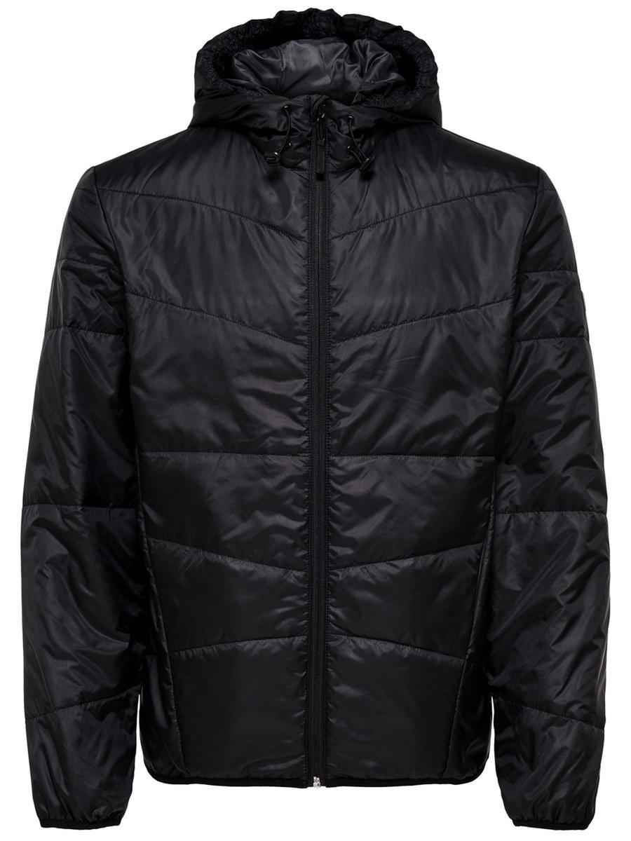 Купить Куртка мужская Only & Sons, цвет: черный. 22008597_Black. Размер M (48)