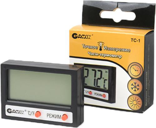 Термометр-часы Garin Точное Измерение TC-112670;12670Термометр-часы Garin Точное Измерение TC-1 термометр-часы .Часы-термометр Garin Точное Измерение TС-1 – это устройство, предназначенное для измерения температуры в помещении и на улице, а также определения времени. Определение температуры в помещении и на улице. Шкала температур: по Цельсию (°C) или по Фаренгейту (°F). Установка времени.