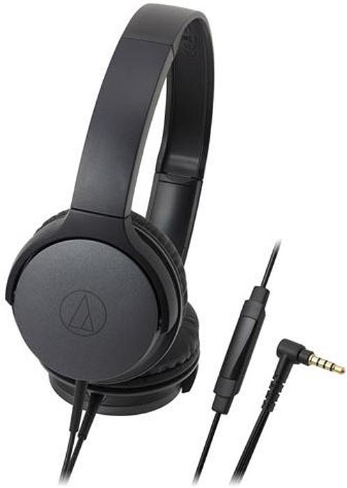 Audio-Technica ATH-AR1ISBK, Black наушники15119213Портативные накладные наушники. 40-мм драйверы обеспечивают чёткое воспроизведение средних и высоких частот, а также мощных упругих басов. Пульт управления с микрофоном на кабеле для управления звонками, музыкой и видео, а также контроля громкости на совместимых устройствах. Складная конструкция, лёгкий вес и компактный дизайн позволяют брать наушники с собой туда, куда бы вы не пожелали