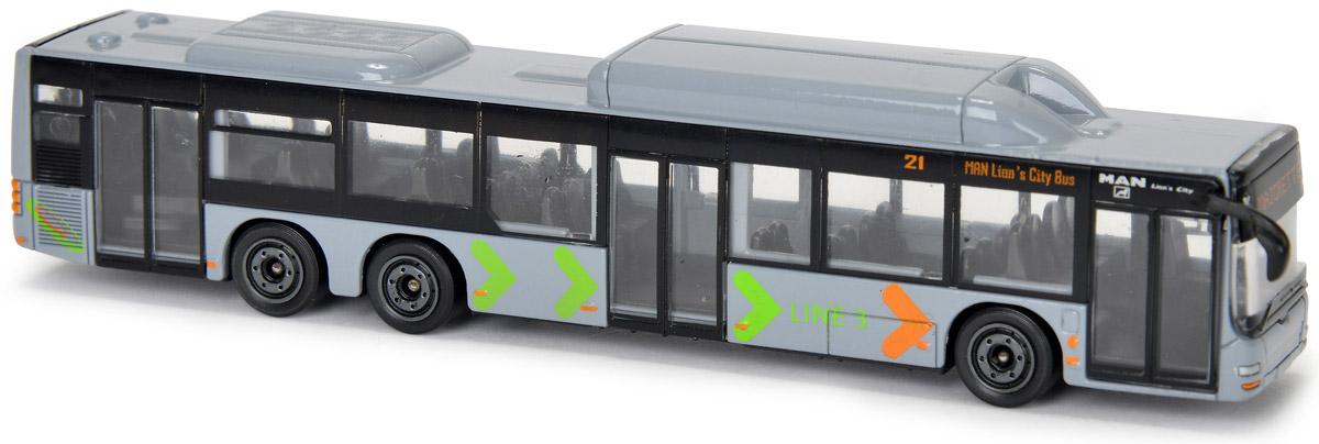 Majorette Автобус цвет серый 205315 спот ★ импортированные голубой автобус автобус автобус автомобиль тайо игрушка тянуть обратно автомобиль корея продукты
