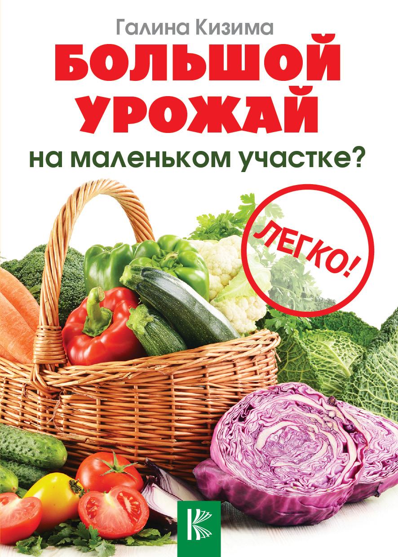 купить Галина Кизима Большой урожай на маленьком участке? Легко! по цене 101 рублей