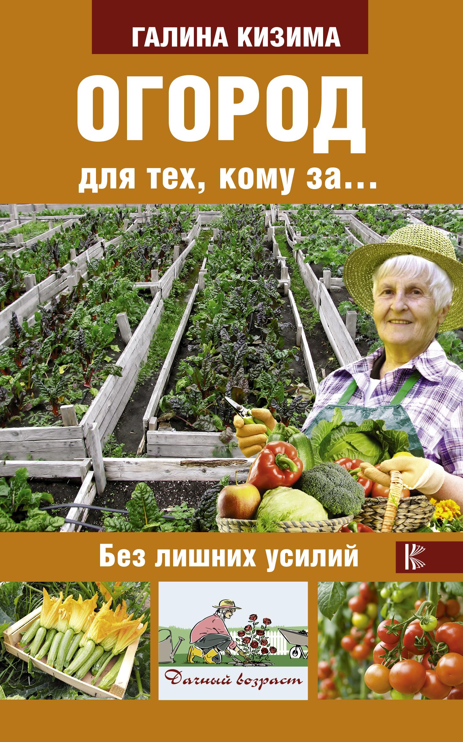 Галина Кизима Огород для тех, кому за... без лишних усилий компьютер для пенсионеров книга