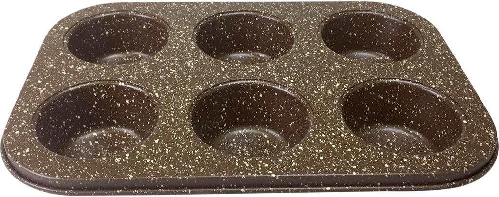 Долговечное, устойчивое к повреждениям, износостойкое; Легко моется, готовит без масла, равномерно распределяет тепло; Форма выполнена из утолщенной углеродистой стали 0,4 мм с ребрами жесткости, благодаря чему меньше подвержена деформации и имеет длительный срок службы; Можно мыть в посудомоечной машине.