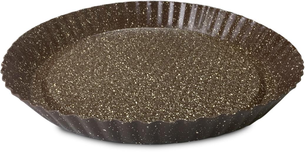 Форма для выпечки пирога Moulinvilla Brownstone, 28 х 28 х 3 смВBWJ-027Долговечное, устойчивое к повреждениям, износостойкое; Легко моется, готовит без масла, равномерно распределяет тепло; Форма выполнена из утолщенной углеродистой стали 0,4 мм с ребрами жесткости, благодаря чему меньше подвержена деформации и имеет длительный срок службы; Можно мыть в посудомоечной машине.