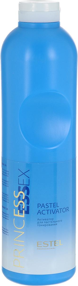 Estel Активатор Essex для пастельного тонирования, 1 лAP/1000Специальный активатор ESSEX 1,5% применяется с крем-красками ESSEX для 8-10-го уровней тона для пастельного тонирования обесцвеченных волос. Понижает содержание аммиака при смешивании с крем-краской. Образует удобную для нанесения кремообразную консистенцию, оказывает щадящее воздействие на волосы и кожу головы. Уважаемые клиенты! Обращаем ваше внимание на то, что упаковка может иметь несколько видов дизайна.Поставка осуществляется в зависимости от наличия на складе.