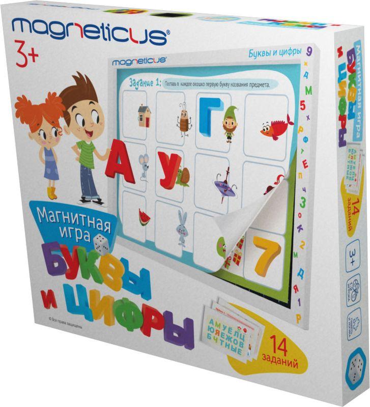 Magneticus Обучающая игра Буквы и Цифры magneticus мягкие магнитные цифры