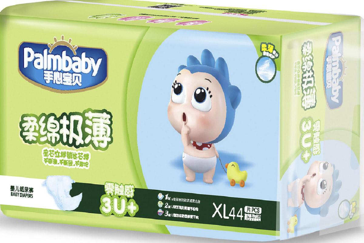 Palmbaby Подгузники детские XL 12+кг 44 шт -  Подгузники и пеленки