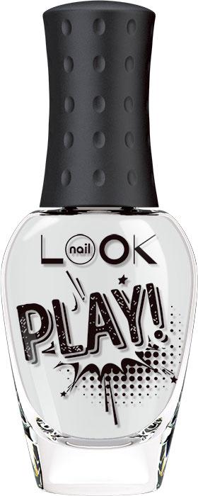 nailLOOK Лак для ногтей Trends Play, тон белый, 8,5 мл азбукварик книга с 1 кнопкой ферма