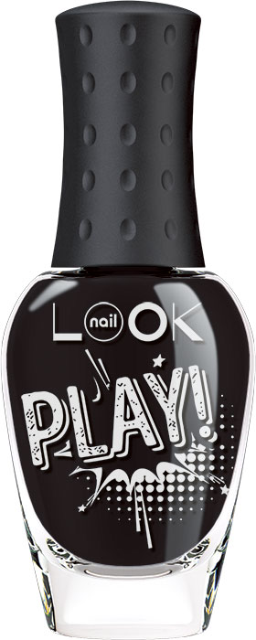 nailLOOK Лак для ногтей Trends Play, тон черный, 8,5 мл31704Яркие насыщенные оттенки лака созданы специально для дизайна ногтей. Играй и смешивай цвета лака, выбирай и создавай свой неповторимый дизайн! Специальная формула лака для дизайна в 3 раза плотнее обычного лака, что позволяет достичь лучшего результата в создании нейл арт дизайна с помощью набора для дизайна ногтей, так как дизайн отлично переносится на любой базовый цвет. Широко известная инновационная кисточка nail LOOK обеспечивает ровное нанесение и абсолютное покрытие. Безопасная формула Big 5 free. Воплощай мечты, создавай свой уникальный дизайн без вреда для ногтей!