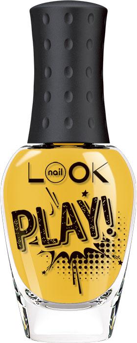 nailLOOK Лак для ногтей Trends Play, тон ярко-желтый, 8,5 мл