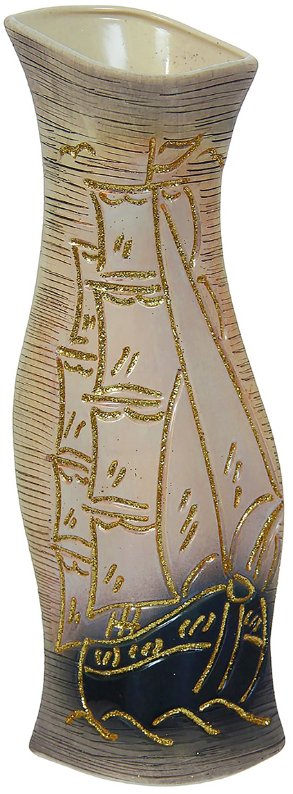 Ваза Керамика ручной работы Натали, цвет: серый, большая1004066Ваза Керамика ручной работы - сувенир в полном смысле этого слова. И главная его задача - хранить воспоминание о месте, где вы побывали, или о том человеке, который подарил данный предмет. Преподнесите эту вещь своему другу, и она станет достойным украшением его дома. Каждому хозяину периодически приходит мысль обновить свою квартиру, сделать ремонт, перестановку или кардинально поменять внешний вид каждой комнаты. Ваза - привлекательная деталь, которая поможет воплотить вашу интерьерную идею, создать неповторимую атмосферу в вашем доме. Окружите себя приятными мелочами, пусть они радуют глаз и дарят гармонию.