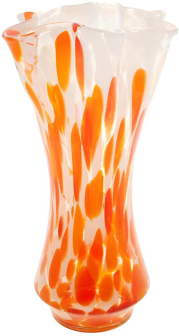 Ваза Оракул, цвет: оранжевый, 30 см1025316Ваза - сувенир в полном смысле этого слова. И главная его задача - хранить воспоминание о месте, где вы побывали, или о том человеке, который подарил данный предмет. Преподнесите эту вещь своему другу, и она станет достойным украшением его дома. Каждому хозяину периодически приходит мысль обновить свою квартиру, сделать ремонт, перестановку или кардинально поменять внешний вид каждой комнаты. Ваза - привлекательная деталь, которая поможет воплотить вашу интерьерную идею, создать неповторимую атмосферу в вашем доме. Окружите себя приятными мелочами, пусть они радуют глаз и дарят гармонию.