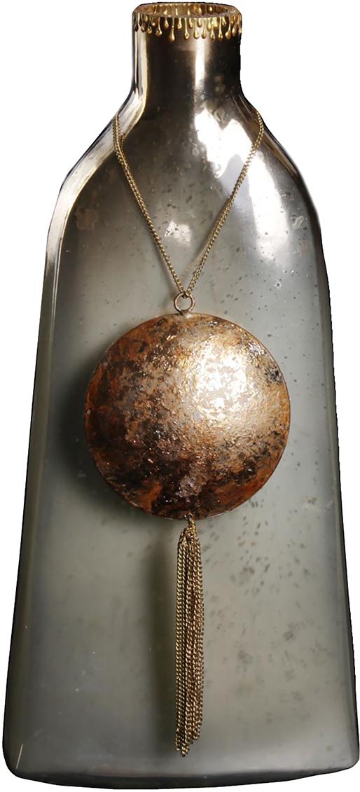 Ваза Бомонд, цвет: коричневый, 37 см1044294Удивительной красоты Ваза Бомонд узкая создана индийскими мастерами-ремесленниками из высококлассного стекла. Экзотический дизайн, неповторимый декор, изысканный эффект старины - всё это придаёт шик этому прекрасному сосуду под цветы. Преподнесите его ценительнице путешествий, любительнице креативных предметов интерьера и просто личности с хорошим вкусом. Элегантный и в то же время диковинный аксессуар привнесёт нотки изыска и королевской роскоши.
