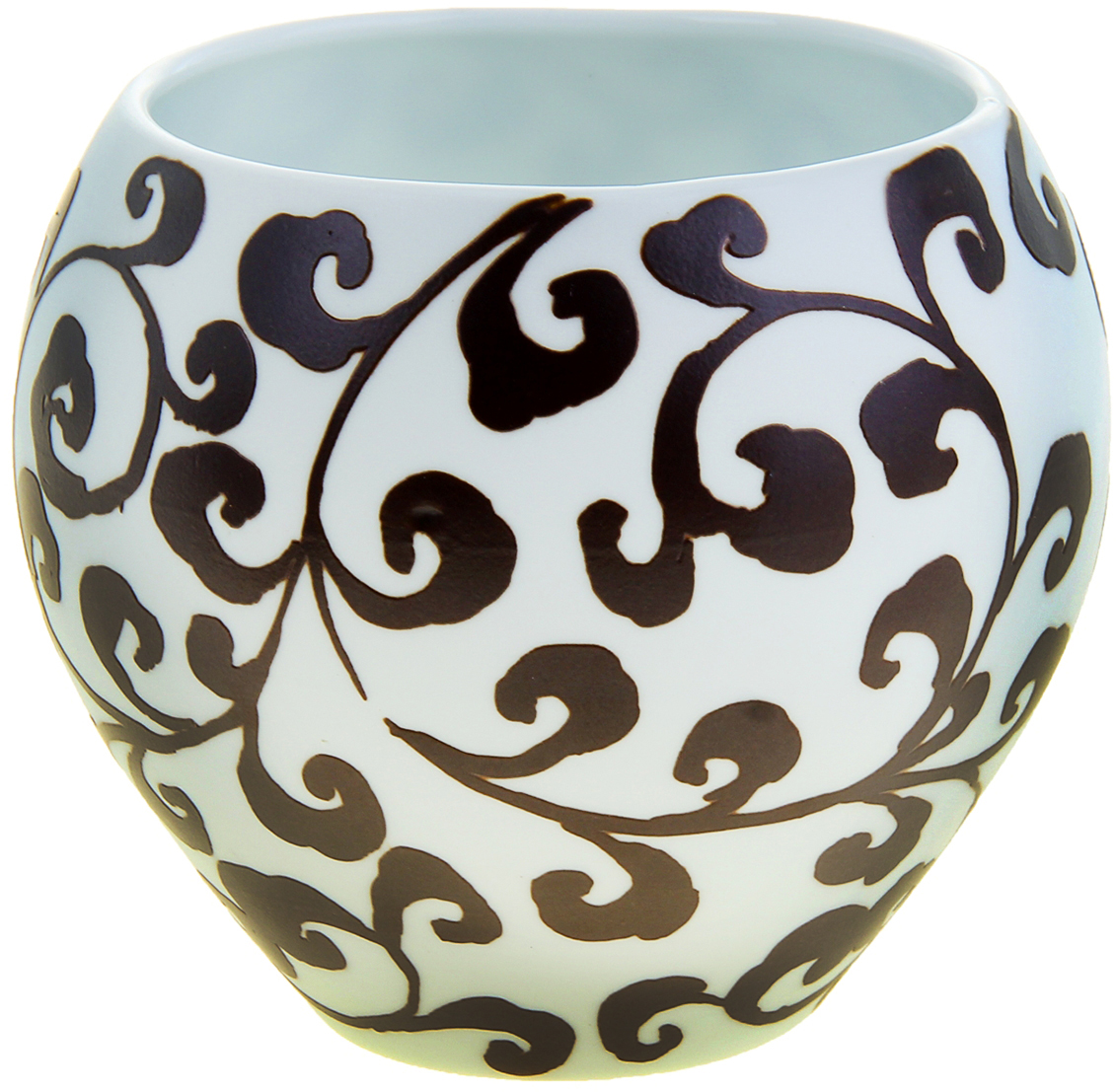 Ваза Узор Флора - ветви, цвет: коричневый, белый, 11,5 см1044649Вьетнамские мастера создали прекрасную вазу с узором Флора из высокопрочной керамики. Искусные ремесленники самостоятельно заготавливали смесь, форму, сушили, обжигали, а затем расписывали её особым «природным ажуром».Ваза Узор Флора - ветви - истинное произведение искусства, которое достойно даже самого трепетного ценителя керамического искусства. Представьте, как изысканно эта красавица будет смотреться в интерьере любой комнаты, привлекая взгляды и улыбки восхищения. Преподнесите её даме на 8 Марта, День рождения или любой другой праздник.