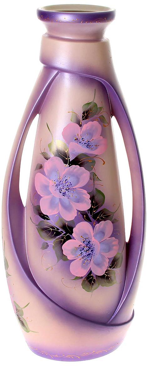 Ваза напольная Керамика ручной работы Венеция, цвет: розовый1071391Ваза - сувенир в полном смысле этого слова. И главная его задача - хранить воспоминание о месте, где вы побывали, или о том человеке, который подарил данный предмет. Преподнесите эту вещь своему другу, и она станет достойным украшением его дома. Каждому хозяину периодически приходит мысль обновить свою квартиру, сделать ремонт, перестановку или кардинально поменять внешний вид каждой комнаты. Ваза - привлекательная деталь, которая поможет воплотить вашу интерьерную идею, создать неповторимую атмосферу в вашем доме. Окружите себя приятными мелочами, пусть они радуют глаз и дарят гармонию.