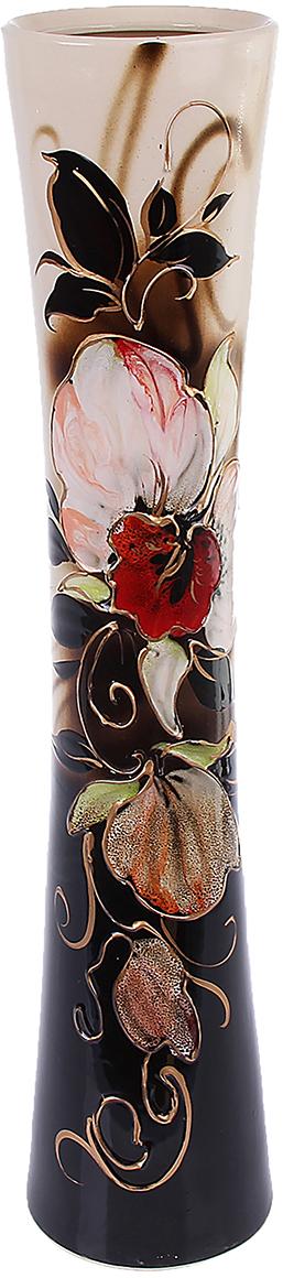Ваза напольная Керамика ручной работы Кубок, цвет: черный1083561Ваза напольная Кубок орхидея, чёрно-белая - сувенир в полном смысле этого слова. И главная его задача - хранить воспоминание о месте, где вы побывали, или о том человеке, который подарил данный предмет. Преподнесите эту вещь своему другу, и она станет достойным украшением его дома. Ваза напольная Кубок орхидея, чёрно-белая - сувенир в полном смысле этого слова. И главная его задача - хранить воспоминание о месте, где вы побывали, или о том человеке, который подарил данный предмет. Преподнесите эту вещь своему другу, и она станет достойным украшением его дома. Каждому хозяину периодически приходит мысль обновить свою квартиру, сделать ремонт, перестановку или кардинально поменять внешний вид каждой комнаты. Ваза напольная Кубок орхидея, чёрно-белая - привлекательная деталь, которая поможет воплотить вашу интерьерную идею, создать неповторимую атмосферу в вашем доме. Окружите себя приятными мелочами, пусть они радуют глаз и дарят гармонию.